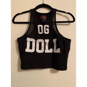 Forever 21 Barbie OG Doll drop top